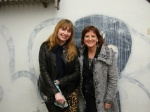 Cathie Bleck and I at William Rupnik