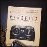 Ben autographed an old issue of Vendetta