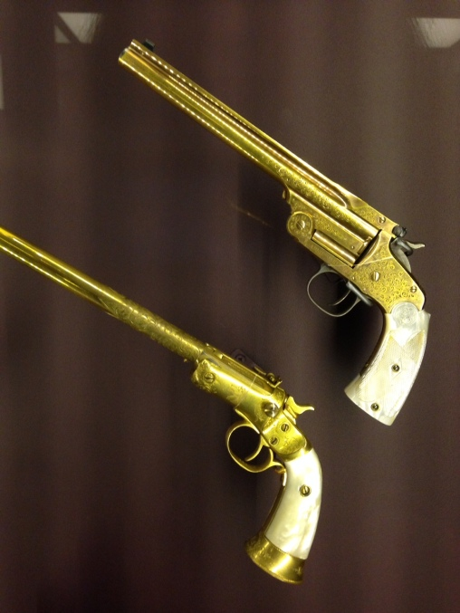 Annie Oakley owned these.