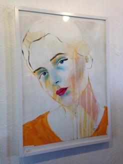 A portrait by Kime