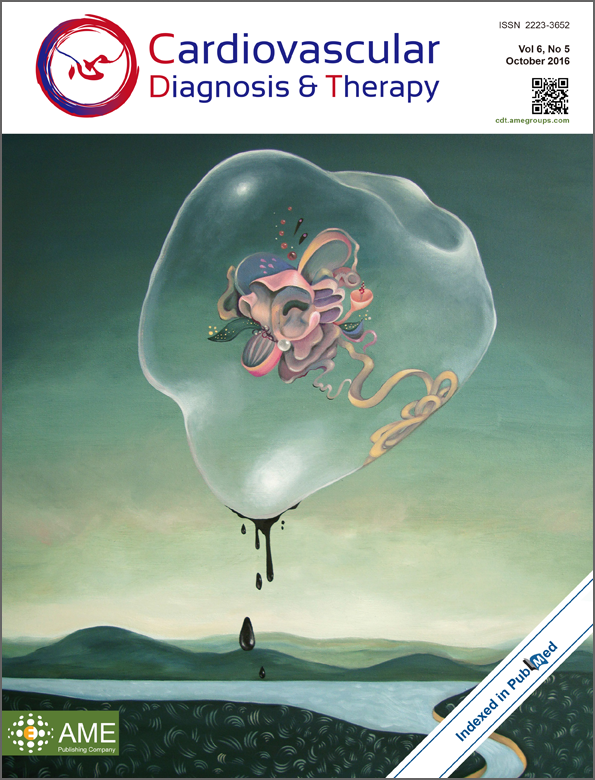 Cardiovascular Diagnosis and Therapy cover by Arabella Proffer