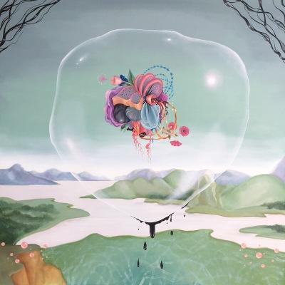 biomorphic art by Arabella Proffer