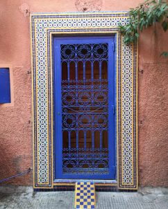 MarrakechDoorblue