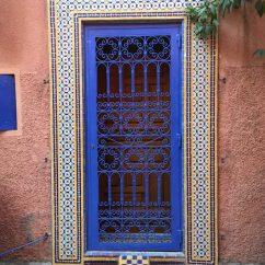 MarrakechDoorblue